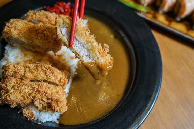 ข้าวแกงกะหรี่หมูทอดทงคัตสึ Kofuku